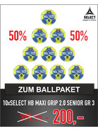 SELECT HB-MAXI GRIP 2.0 BALLPAKET SENIOR (Gr.3)